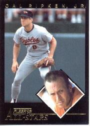 1992 Fleer All-Stars #20 Cal Ripken front image