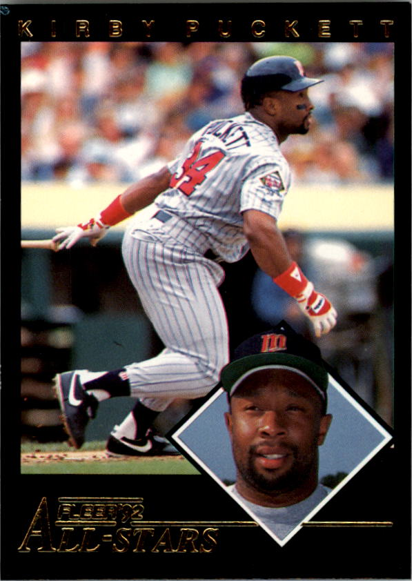 1992 Fleer All-Stars #22 Kirby Puckett