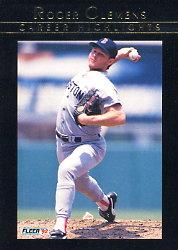 1992 Fleer Clemens #5 Roger Clemens/Time Of Trial