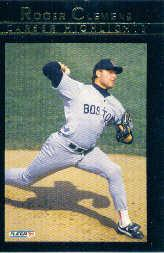 1992 Fleer Clemens #8 Roger Clemens/Business As Usual