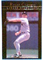 1992 Fleer Clemens #10 Roger Clemens/Blood, Sweat and Tears