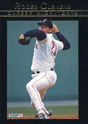 1992 Fleer Clemens #12 Roger Clemens/Man For Every Season
