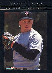 1992 Fleer Clemens #13 Roger Clemens EXCH/Cooperstown Bound