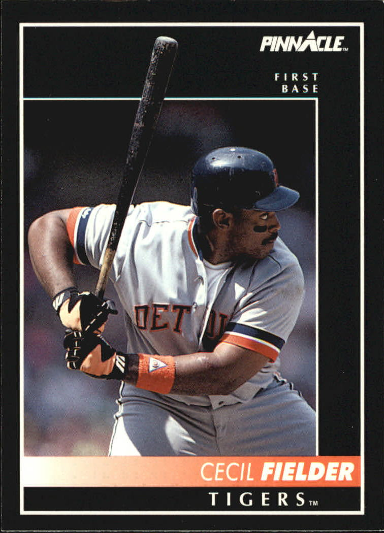 1992 Pinnacle #4 Cecil Fielder