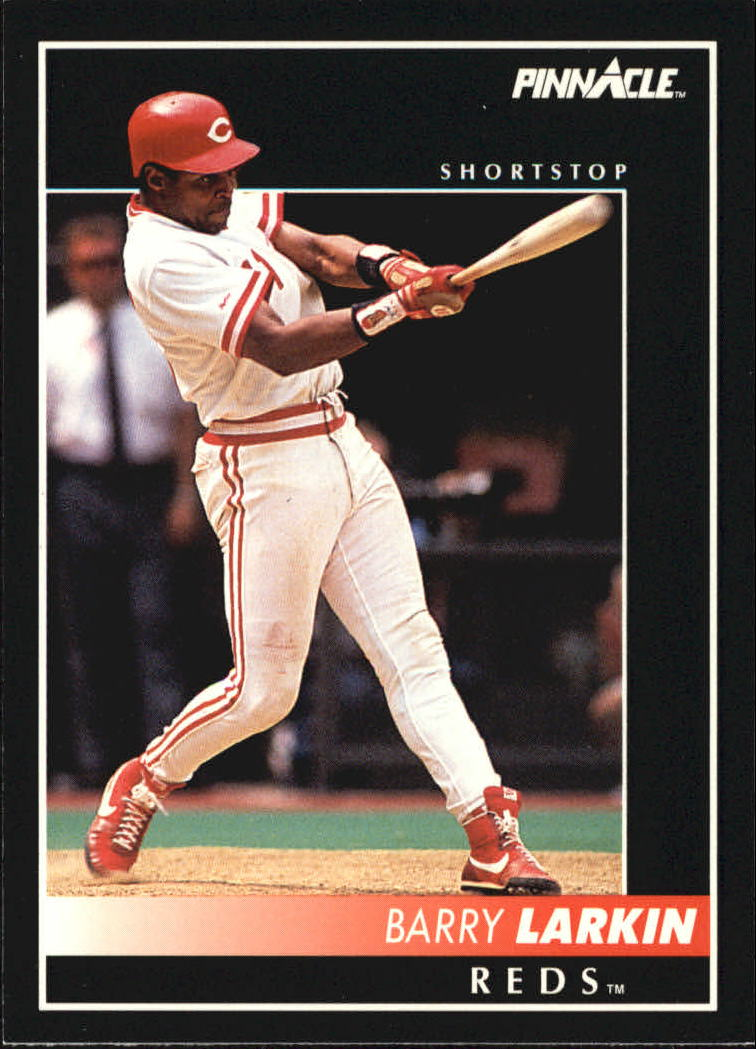 1992 Pinnacle #5 Barry Larkin