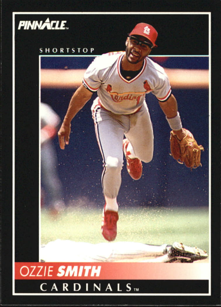1992 Pinnacle #6 Ozzie Smith