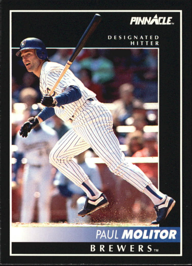 1992 Pinnacle #8 Paul Molitor