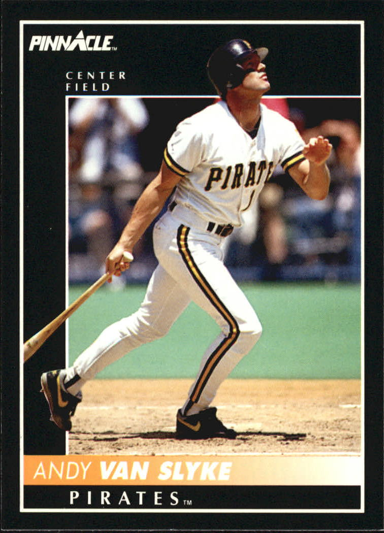 1992 Pinnacle #9 Andy Van Slyke