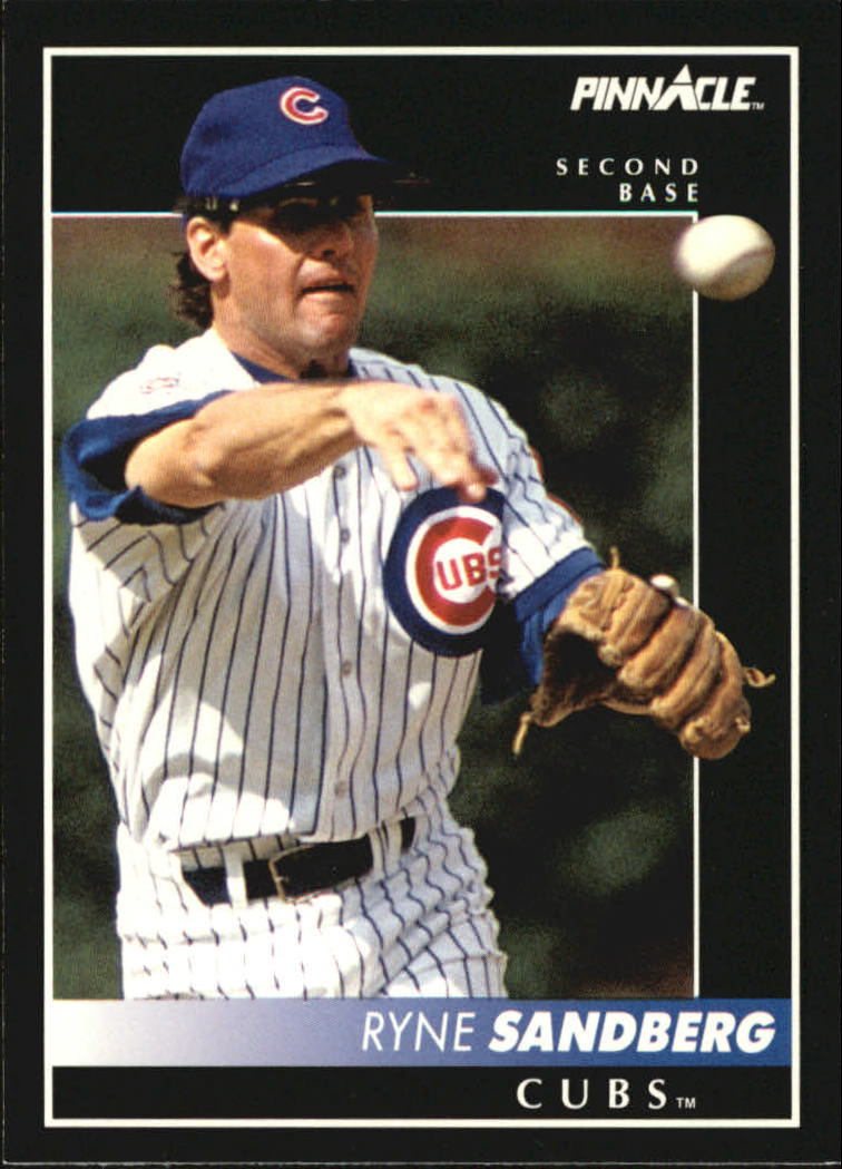 1992 Pinnacle #10 Ryne Sandberg