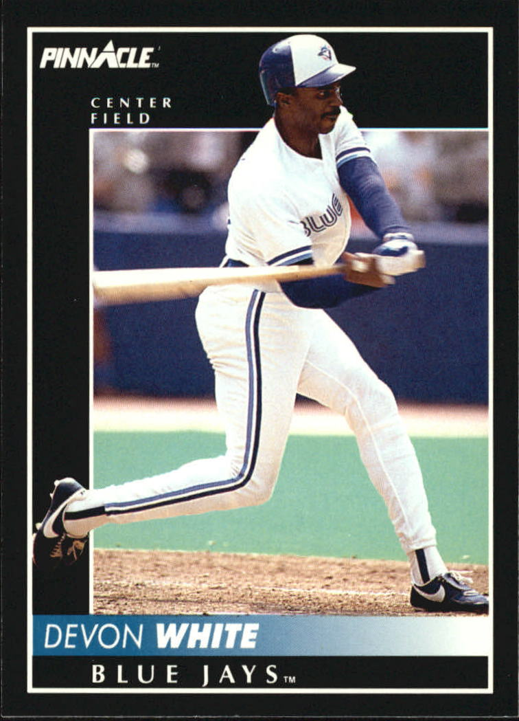 1992 Pinnacle #17 Devon White