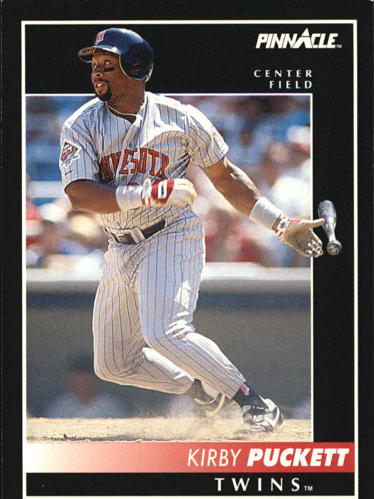 1992 Pinnacle #20 Kirby Puckett