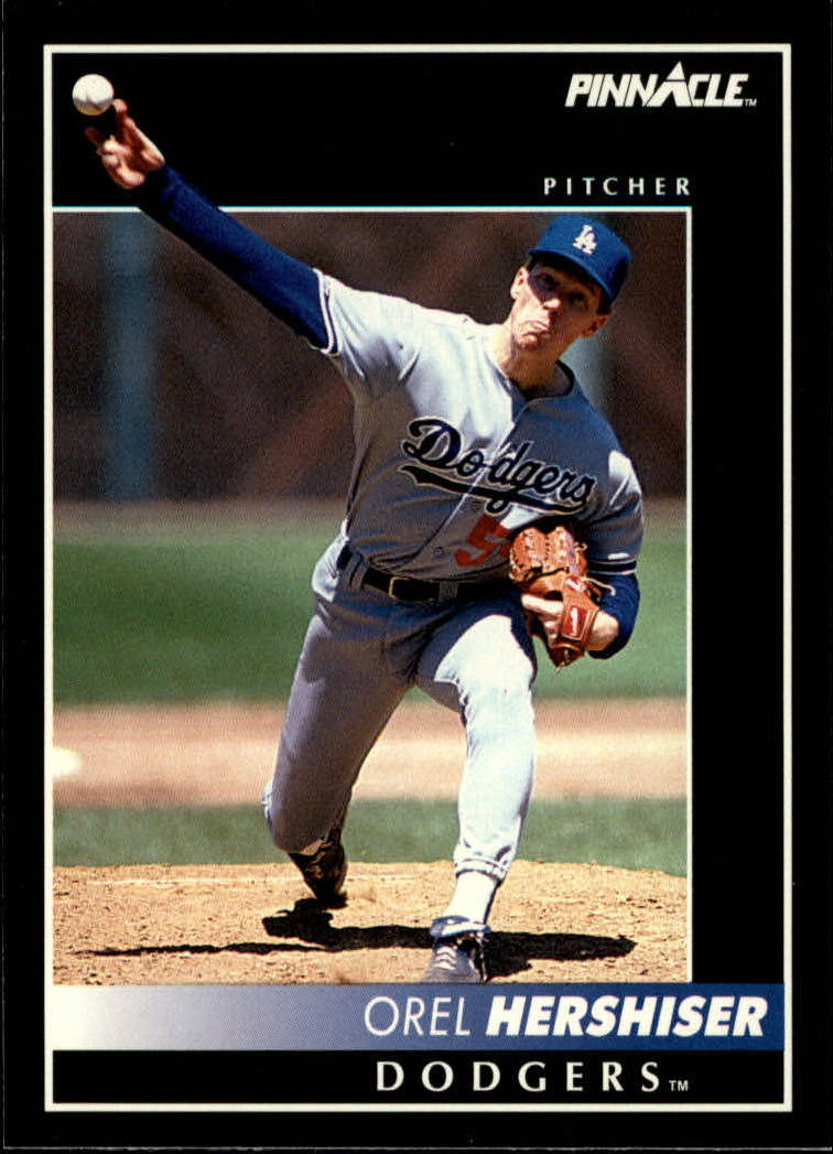 1992 Pinnacle #21 Orel Hershiser