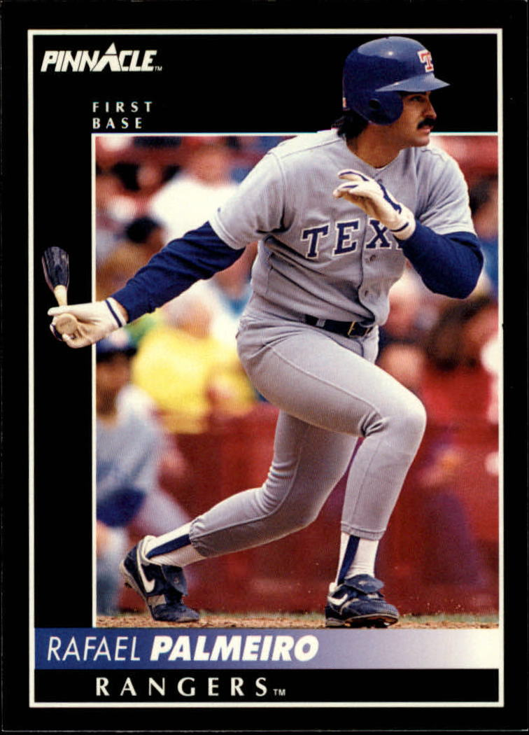 1992 Pinnacle #35 Rafael Palmeiro