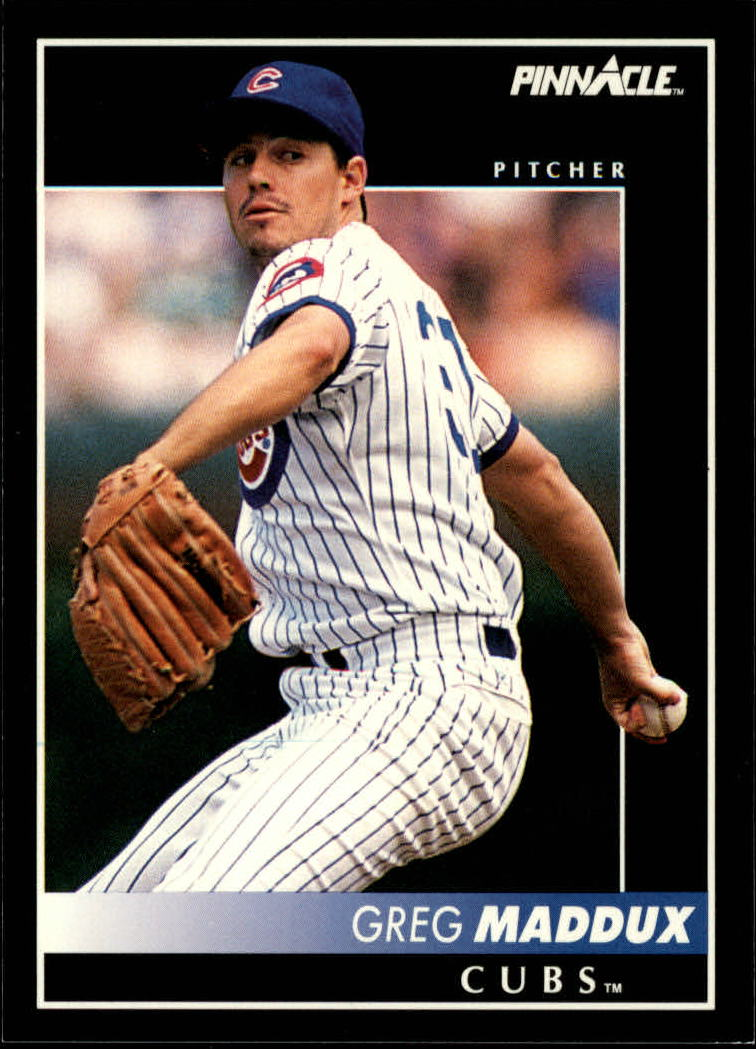 1992 Pinnacle #65 Greg Maddux