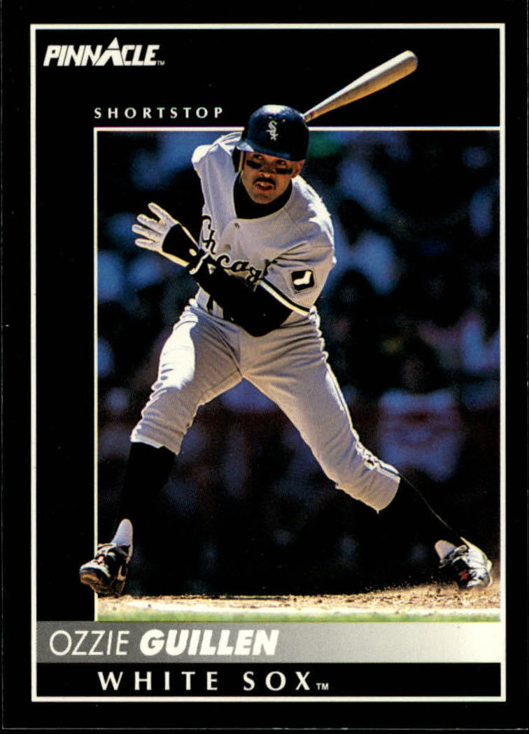 1992 Pinnacle #79 Ozzie Guillen