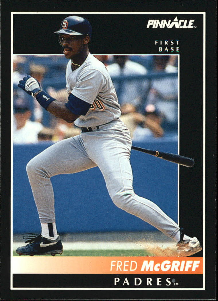 1992 Pinnacle #112 Fred McGriff