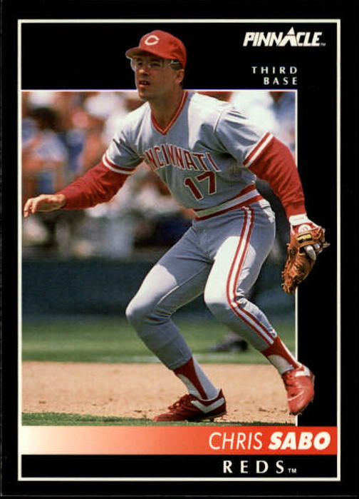 1992 Pinnacle #135 Chris Sabo