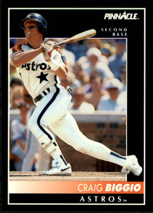 1992 Pinnacle #140 Craig Biggio