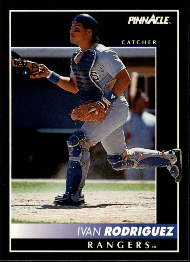 1992 Pinnacle #156 Ivan Rodriguez
