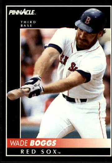 1992 Pinnacle #175 Wade Boggs