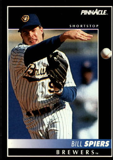 1992 Pinnacle #177 Bill Spiers