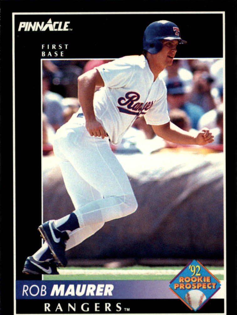 1992 Pinnacle #273 Rob Maurer RC