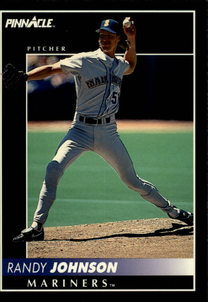 1992 Pinnacle #379 Randy Johnson
