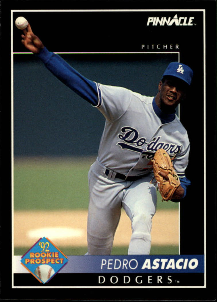 1992 Pinnacle #551 Pedro Astacio RC