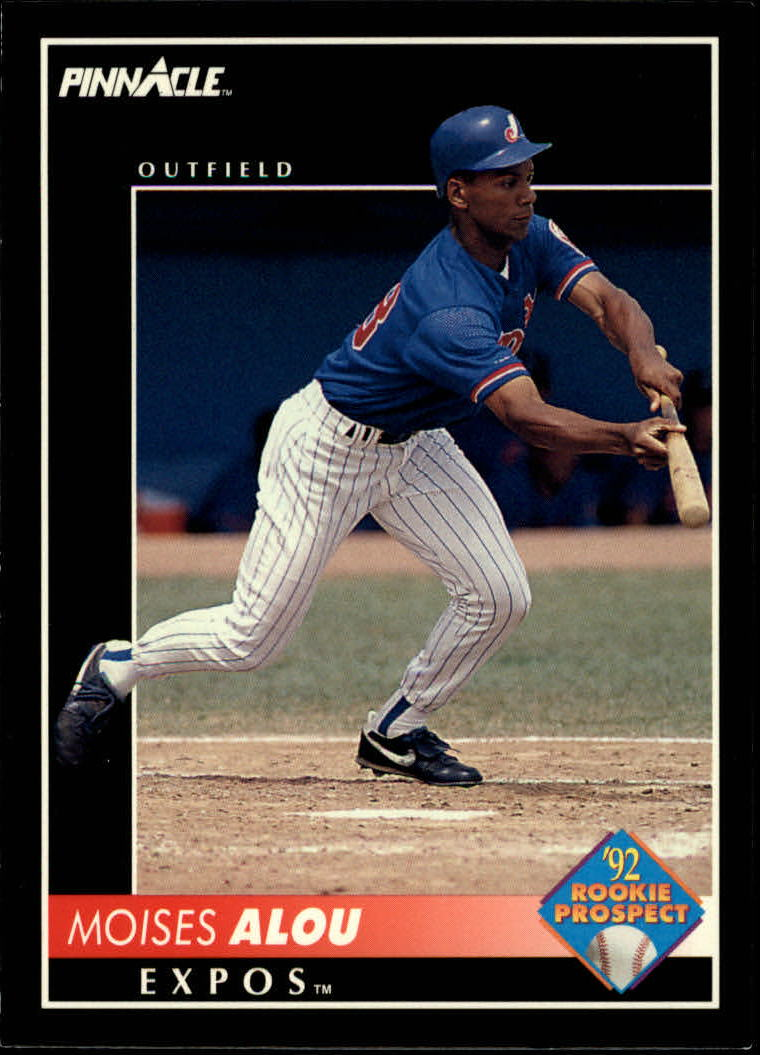1992 Pinnacle #572 Moises Alou