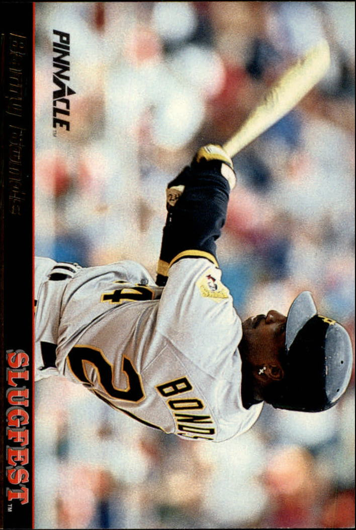 1992 Pinnacle Slugfest #4 Barry Bonds