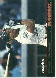 1992 Pinnacle Slugfest #11 Frank Thomas