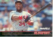 1992 Pinnacle Slugfest #13 Kirby Puckett