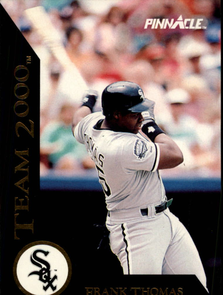 1992 Pinnacle Team 2000 #3 Frank Thomas