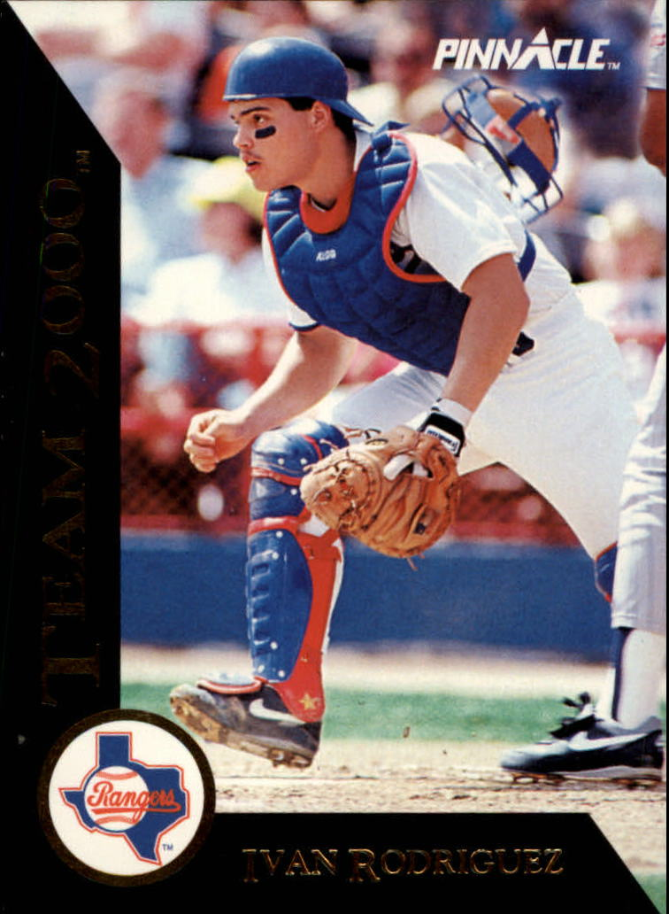 1992 Pinnacle Team 2000 #8 Ivan Rodriguez