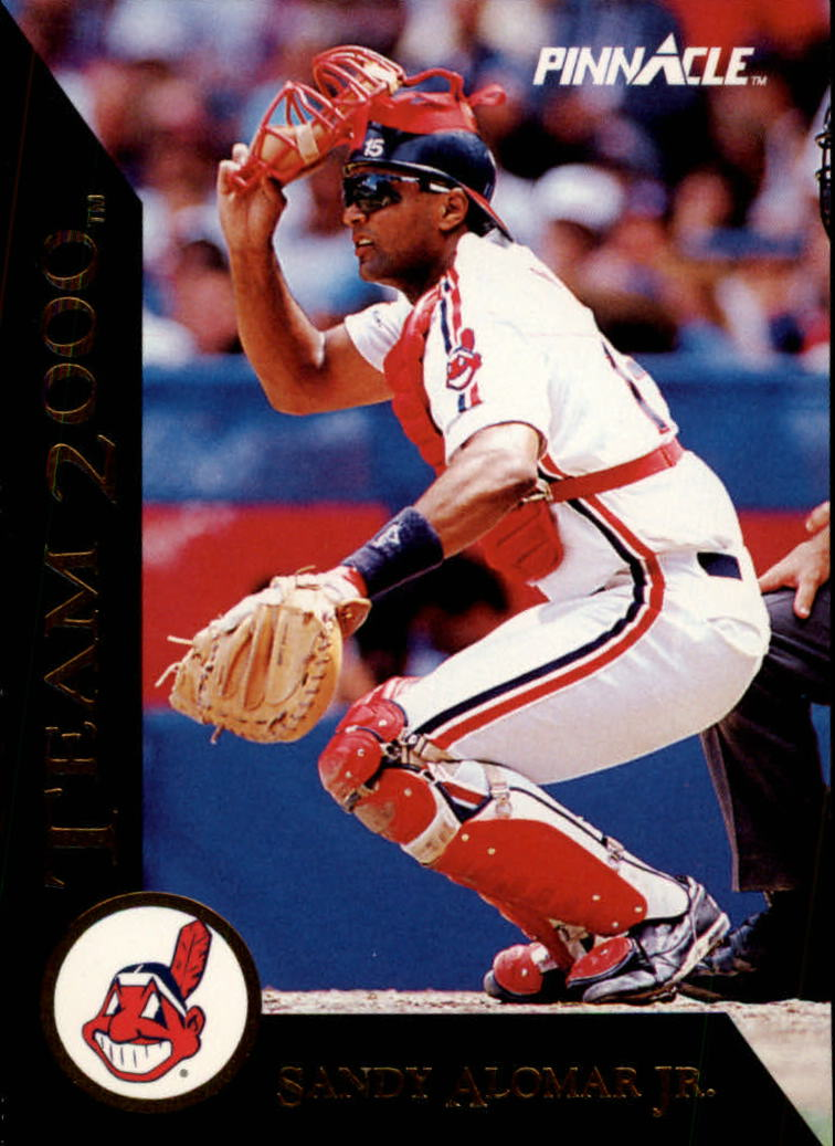 1992 Pinnacle Team 2000 #17 Sandy Alomar Jr.
