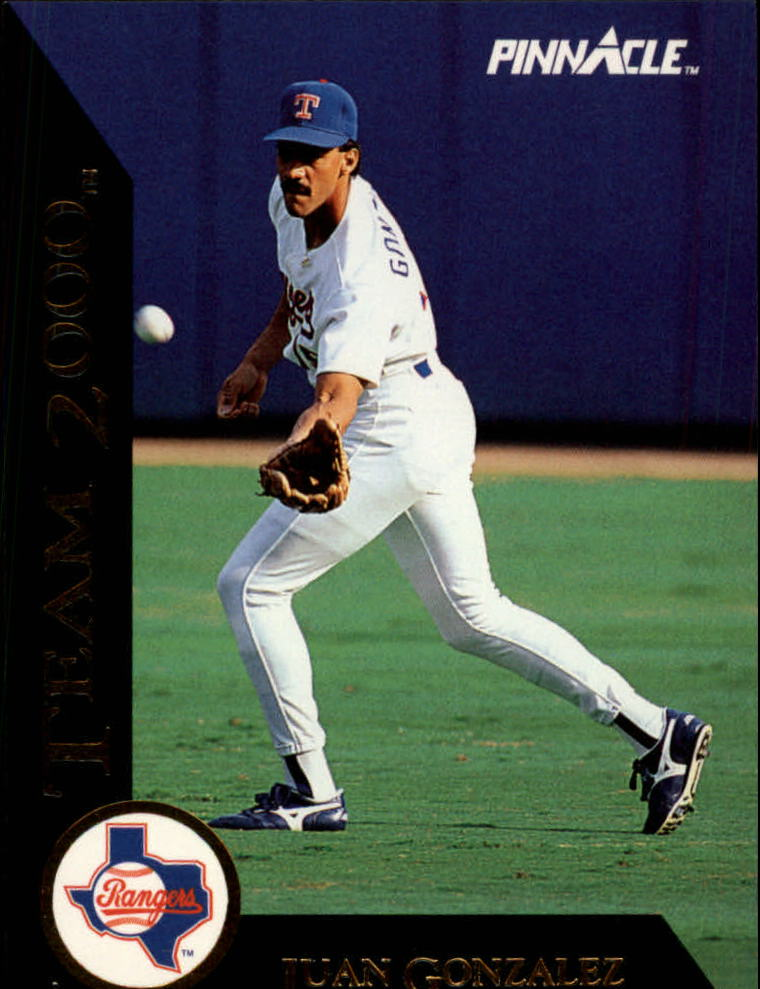 1992 Pinnacle Team 2000 #26 Juan Gonzalez