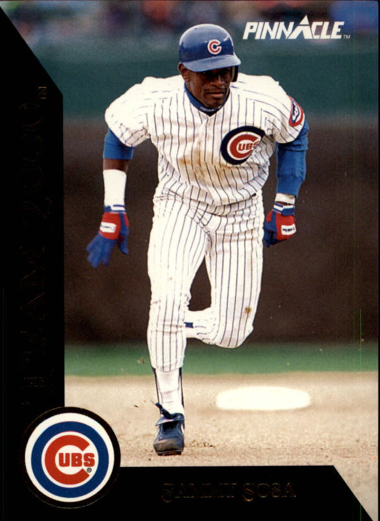 1992 Pinnacle Team 2000 #55 Sammy Sosa