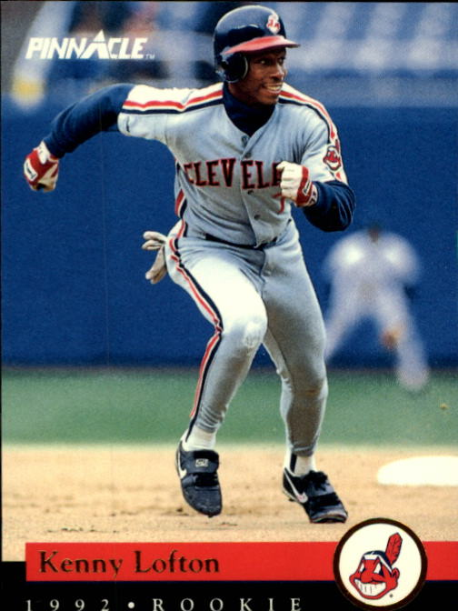 1992 Pinnacle Rookies #3 Kenny Lofton