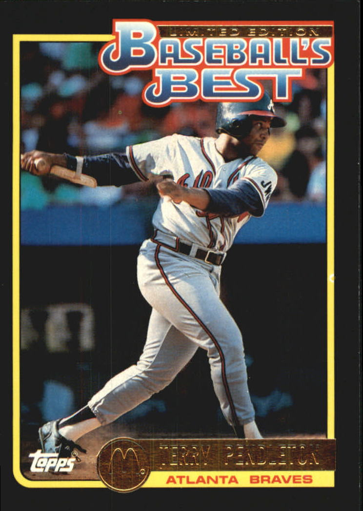 1992 Topps McDonald's #7 Terry Pendleton
