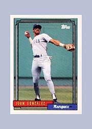 1992 Topps Micro #27 Juan Gonzalez