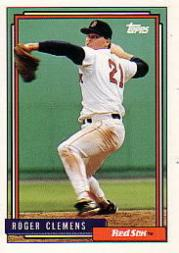 1992 Topps Micro #150 Roger Clemens
