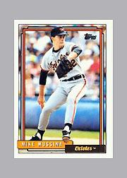1992 Topps Micro #242 Mike Mussina