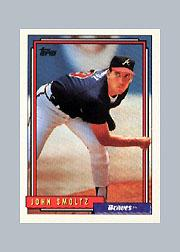 1992 Topps Micro #245 John Smoltz