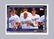 1992 Topps Micro #261 Tom Lasorda MG