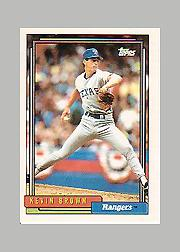 1992 Topps Micro #297 Kevin Brown