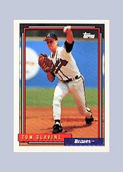 1992 Topps Micro #305 Tom Glavine