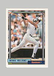 1992 Topps Micro #374 Bernie Williams