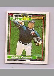 1992 Topps Micro #405 Roger Clemens AS