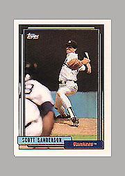 1992 Topps Micro #480 Scott Sanderson