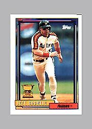 1992 Topps Micro #520 Jeff Bagwell